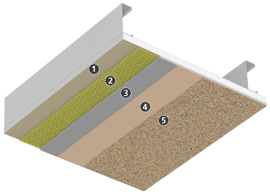 Direct-applied Finish System for Soffits and Ceilings