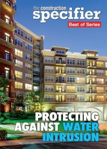 Construction Specifier E-book On Protecting Against Water Intrusion