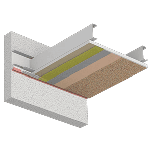 StoQuik Gold System For Soffits And Ceilings